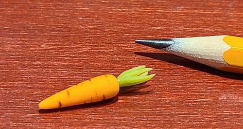 1/12 Scale Handmade Carrot