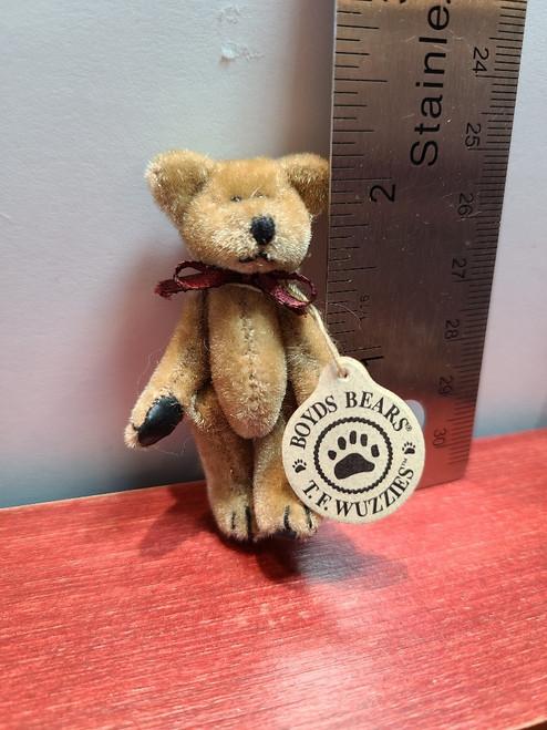 """Miniature  Boyds Teddy Bear  -2 1/4"""" Tall"""