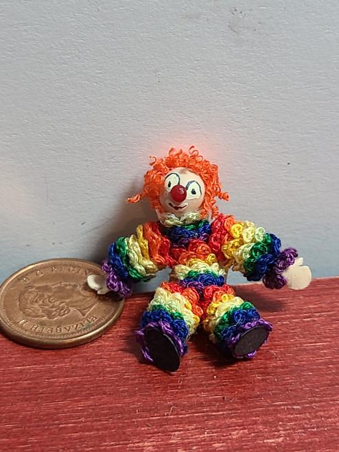 1/12 Scale Pom Pom Clown Toy