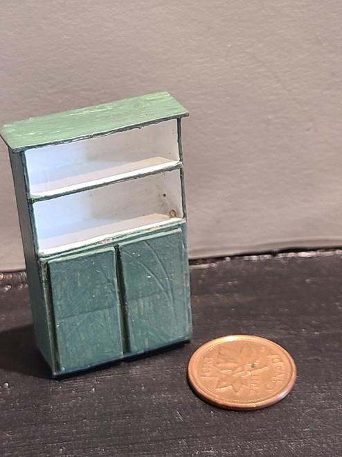 "1/4"" Scale (1/48) Wooden Cupboard"
