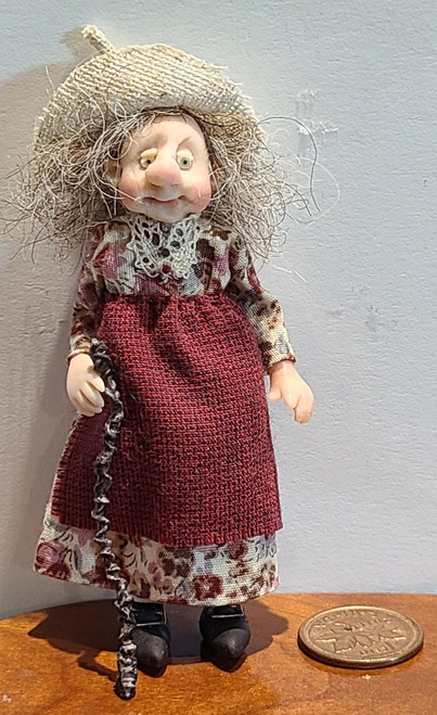"""1/2"""" Scale (1/24) Doll by Adora Bella Minis, UK"""