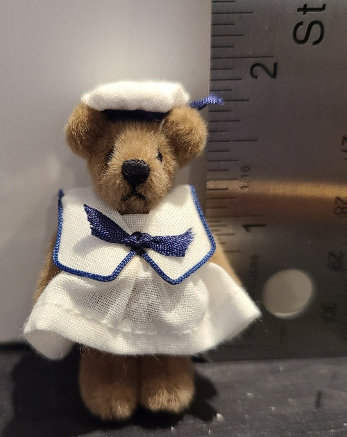Miniature  Teddy Bear - Sailor Girl