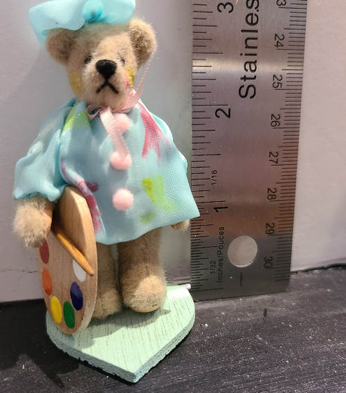Miniature  Teddy Bear - Artist