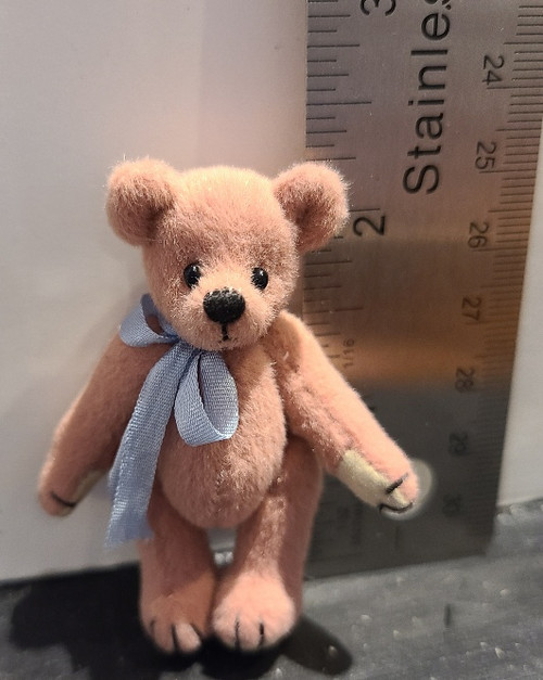 Miniature  Teddy Bear - Pink