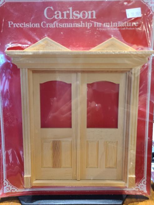 1/12 Scale Fancy Double Front Door