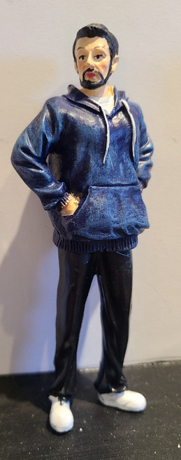 Young Man in Hoodie 1/12 Scale Resin Doll