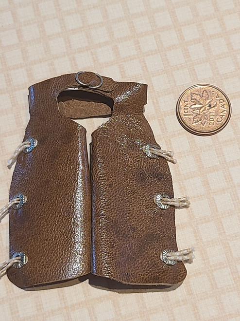 1/12 Scale Leather Chaps