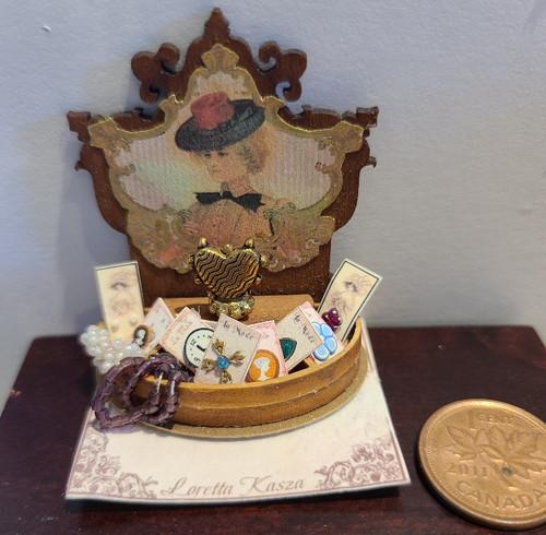 Miniature Victorian Vanity Case
