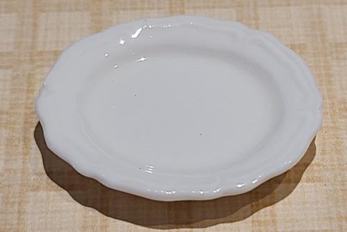 White Porcelain Platter - Very Fine Quality