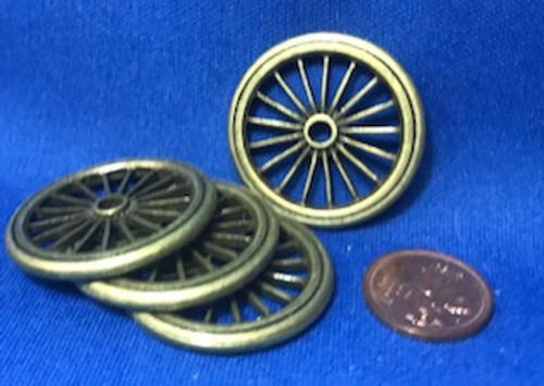 Set of Metal Wheels - 4