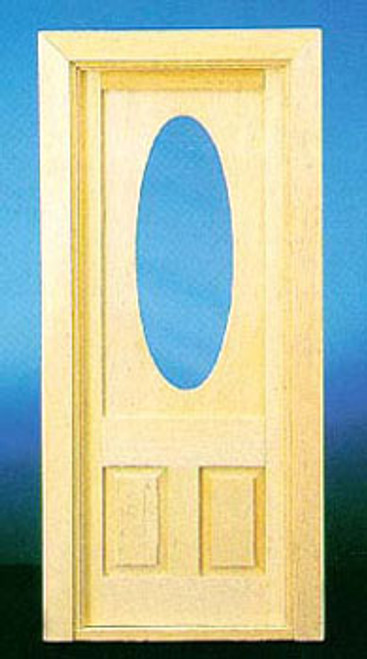 1/12 Scale Door with Oval Window