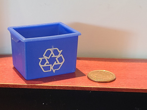 Miniature Recycling Bin