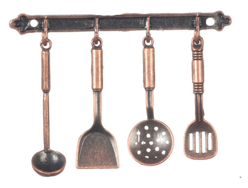 1/12 Scale Kitchen Hanging Utensils