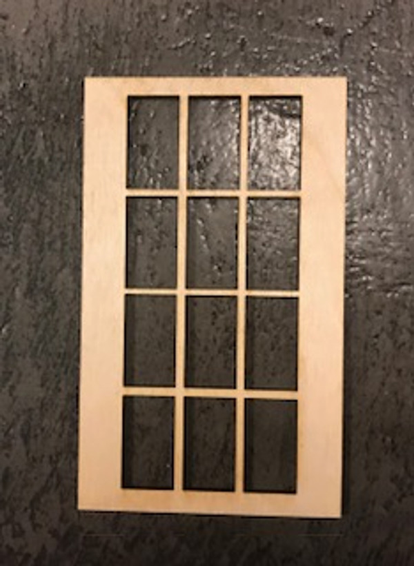 "12 Lite Window - 3""x5"""