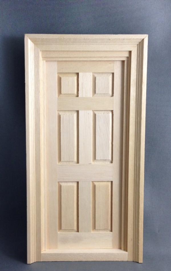 6 Panel Exterior Door
