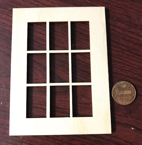 "9 Lite Window - 3""x 4"""
