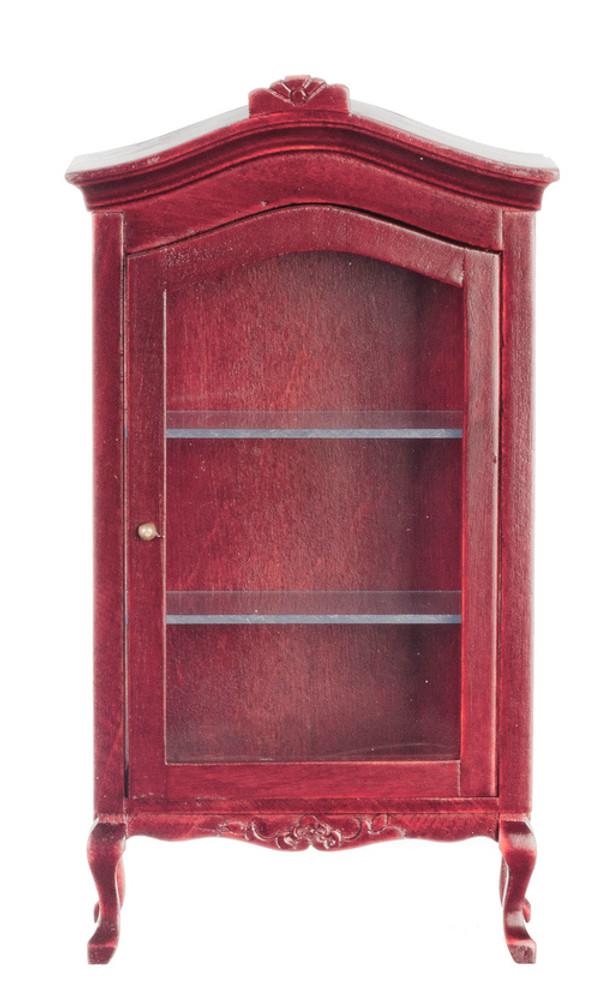 Mahogany Display Cabinet