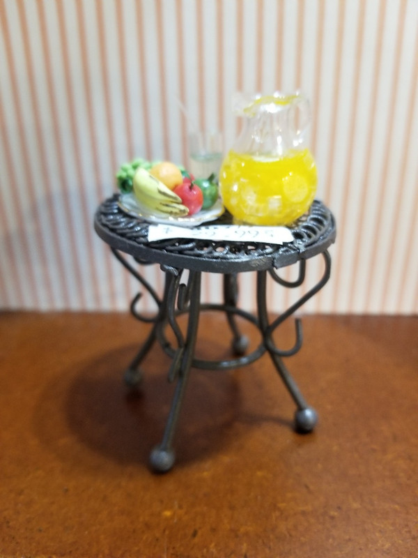 Reutter Porzellan - Decorated Wire Side Table