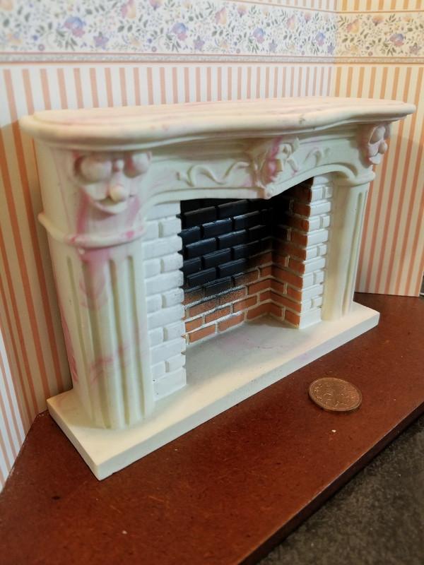 Resin Fireplace