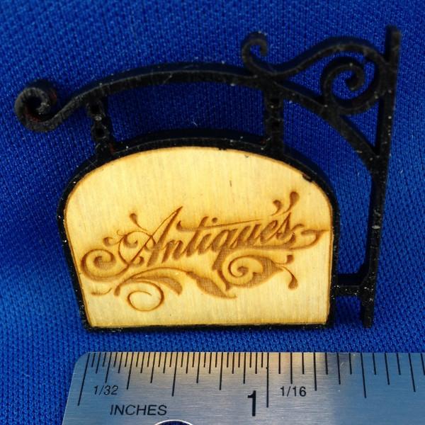 Antiques Sign #1