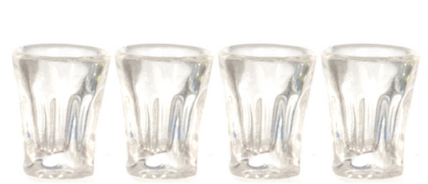 Bistro Drinking Glasses - set of 4