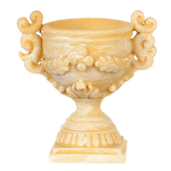 Decorated Garden Urn
