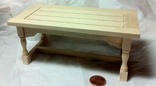 1/12 Scale Miniature Unfinished Table