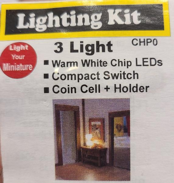LED lighting Package - 3 Chip LEDs