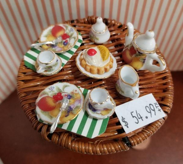 Reutter Porzellan -   Tea for Two Wicker Table Set