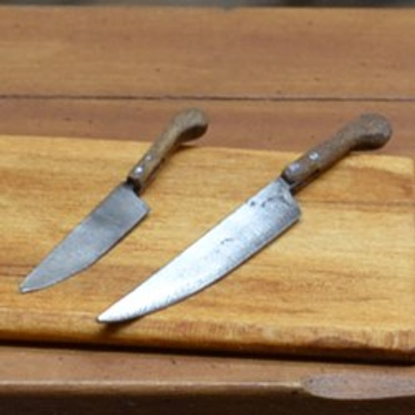 Set of Handcrafted Kitchen Knives