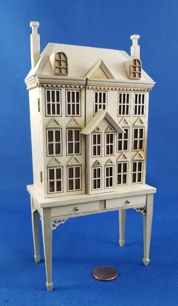 Dollhouse on a Table
