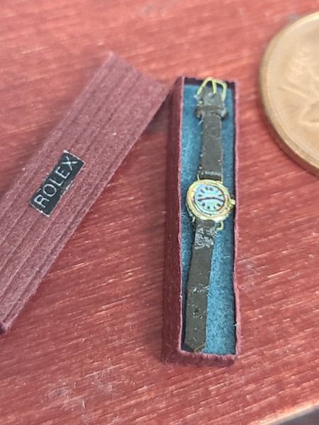 Miniature Wrist Watch by Judith Blondell