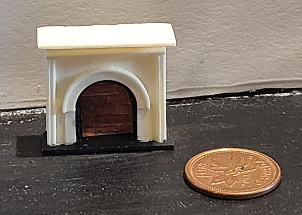 """1/4"""" Scale (1/48)  Fireplace"""