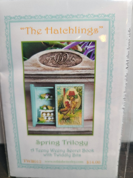 """1/4"""" Scale (1/48) Robin Betterley Kit- """"The Hatchlings"""" Spring Trilogy"""