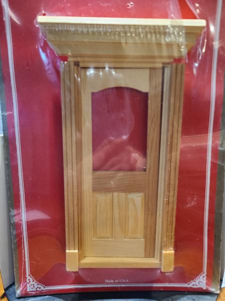 1/12 Scale Fancy Single Front Door