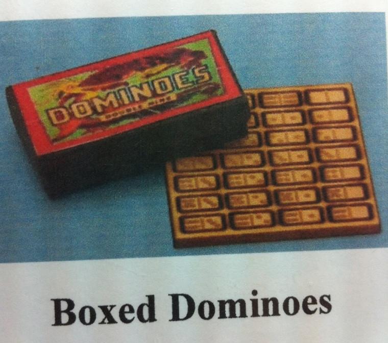 Boxed Dominoes Kit