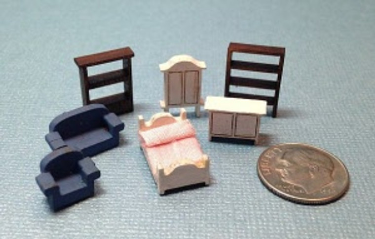 """Made for a Princess"" Tiny Furniture Kit"