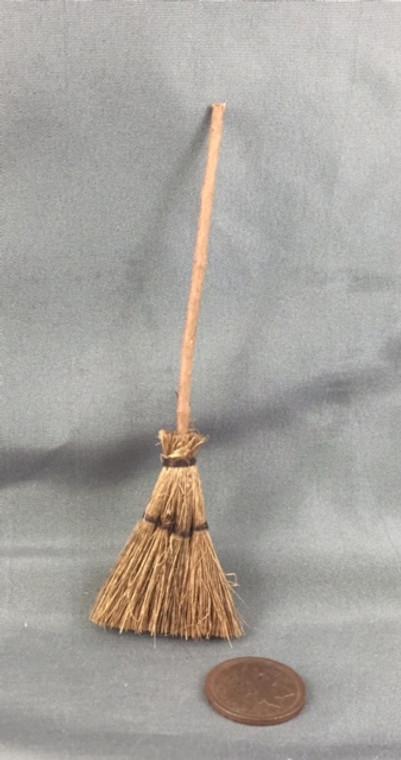 Primitive Corn Broom