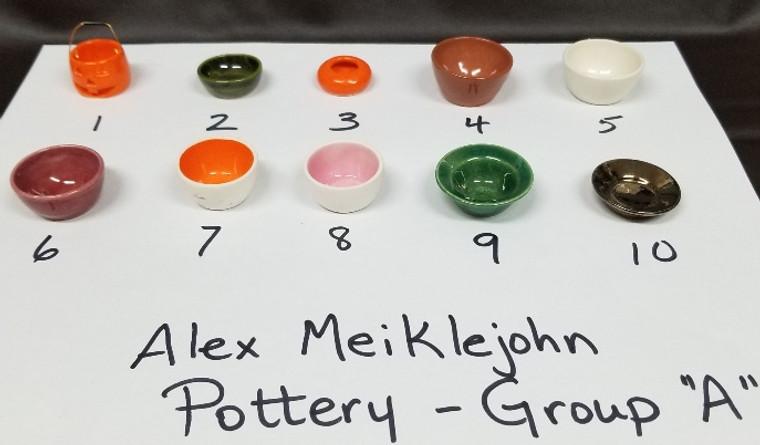 Alex Meiklejohn Pottery - Group A