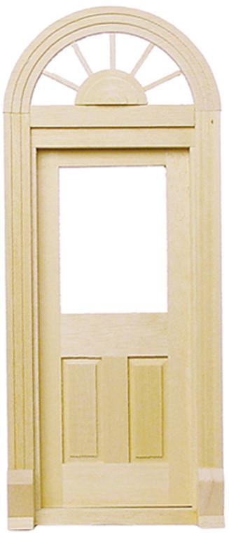 Elegent Miniature Palladian Door