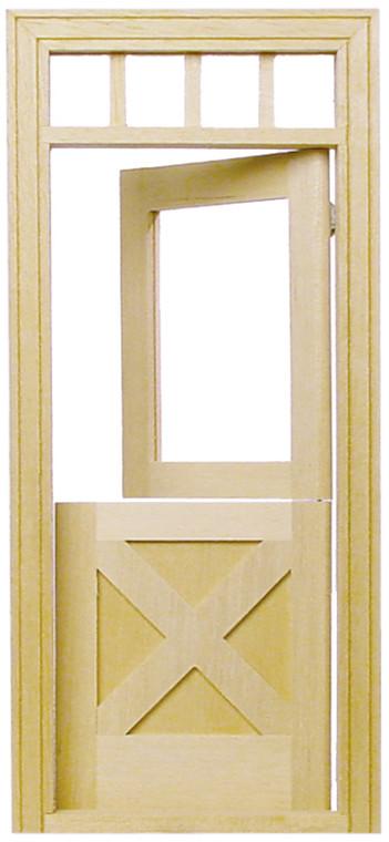 Miniature Crossbuck Dutch Door