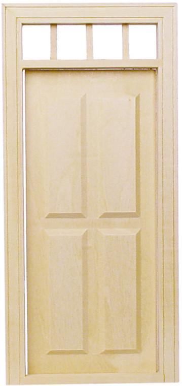 Miniature  4 Panel Exterior Door