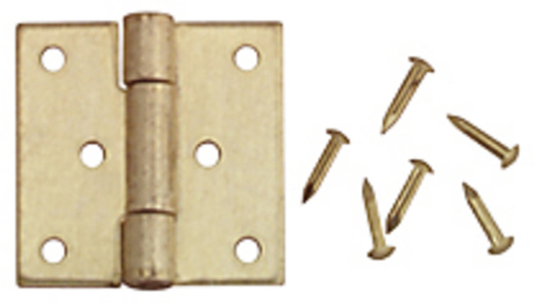 Set of Miniature Square Hinges (4)