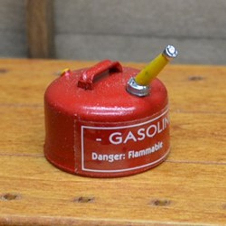 Miniature Red Gasoline Can