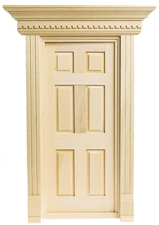 1/12 Scale Yorktown Door - AB20-38