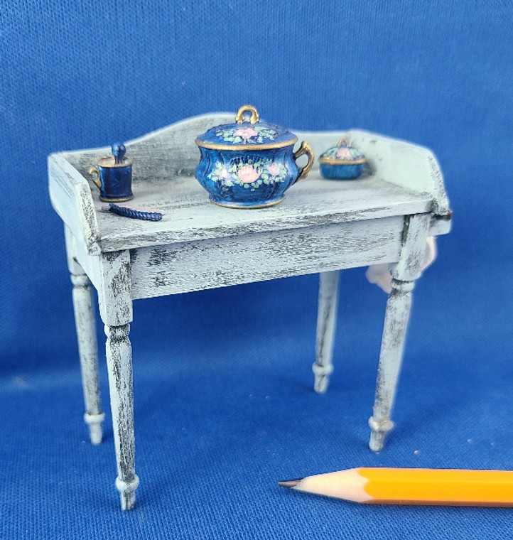 1/12 Scale Handcrafted Wash Stand