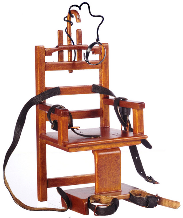 """""""Old Sparky"""" Electric Chair"""