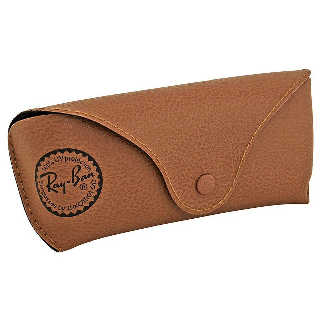 5c230588fe02 Ray Ban Sunglasses Case - Brown Leather (CASE ONLY) - Lily's Design Co.