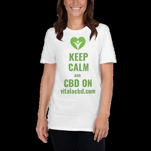 Vitala | Keep Calm T-Shirt | Premium CBD