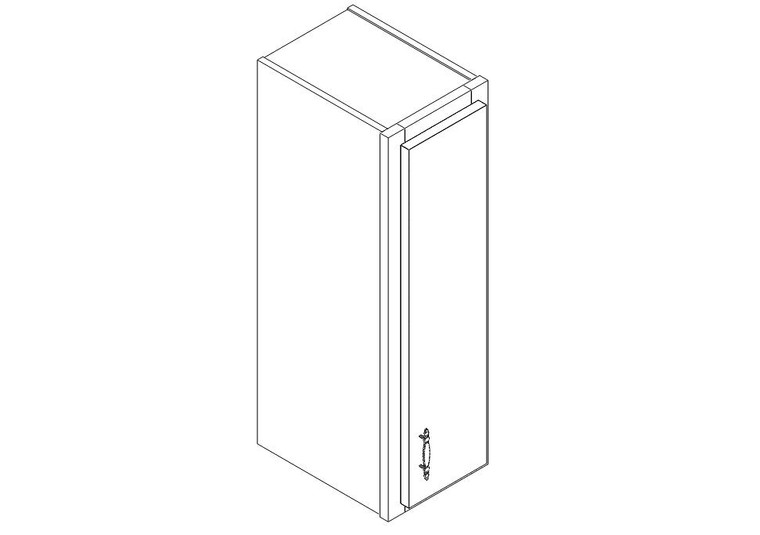 "Wall Cabinet 09"" x 30"""